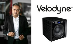 Mansour Mamaghani, Velodyne-Subwoofer (Bilder: Audio Reference)