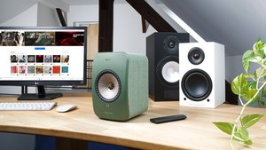 KEF LSX Streaming-Aktivlautsprecher