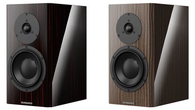 "Dynaudio Special Forty in ""Black Vine"" & ""Ebony Wave"