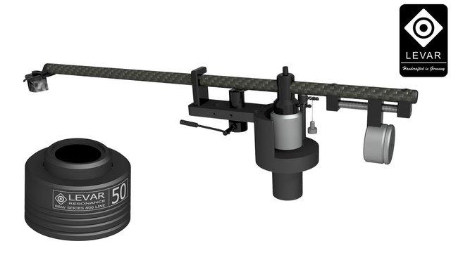 Levar Superior Black-Chrom & Levar Resonance Magnetic Absorber B&W Series 800 Line