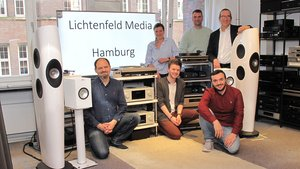 Das Team von Lichtenfeld Media in Hamburg