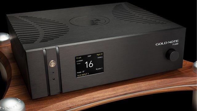 Vorverstärker P-1000 (Bilder: Gold Note)