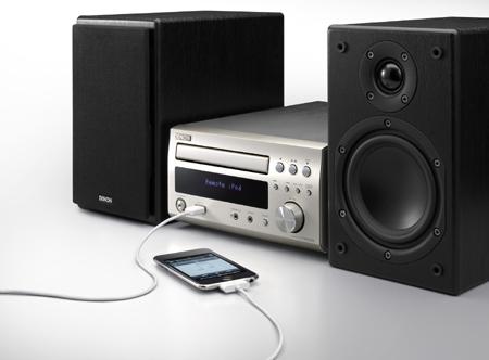 "Stereo: Denon-Minis mit ""iPhone Digital Direct"""
