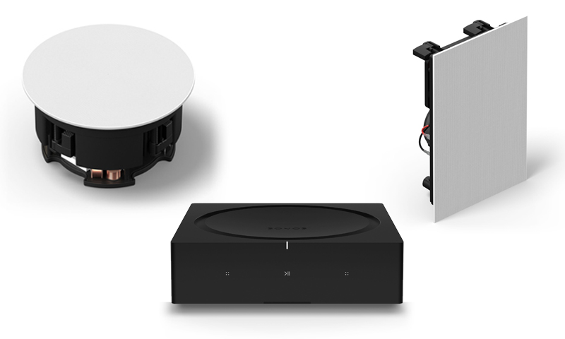 In-Ceiling- und In-Wall-Speaker, Amp (Bilder: Sonos)