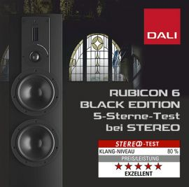 DALI Rubicon 6 Black Edition